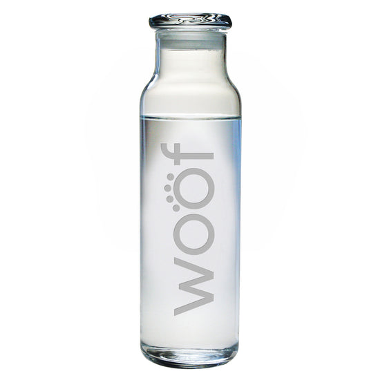 Woof Water Bottle with Lid