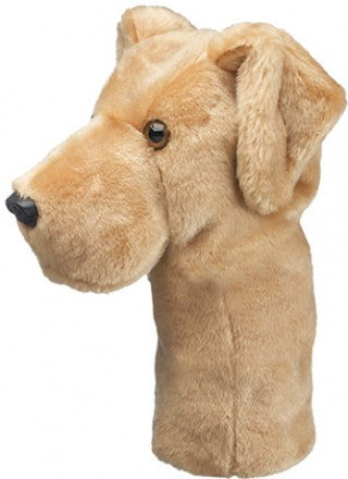 Yellow Lab Golf Head Cover