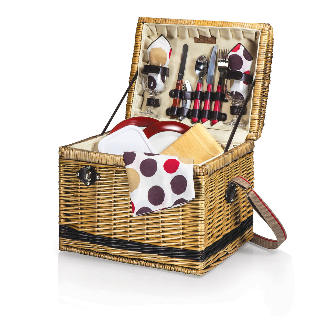 Yellowstone Picnic Basket ~ Moka