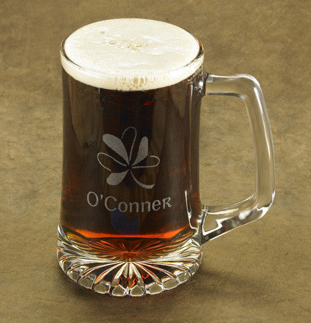 Shamrock Beer Mug ~ Personalized