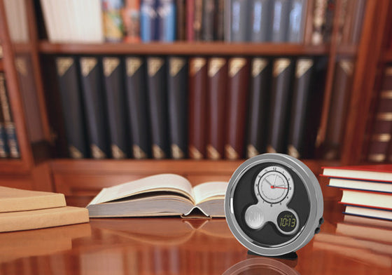 Personalized Modern Times Desk Clock