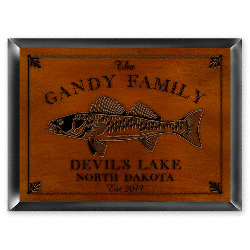 Cabin Series Traditional Signs ~ Personalized