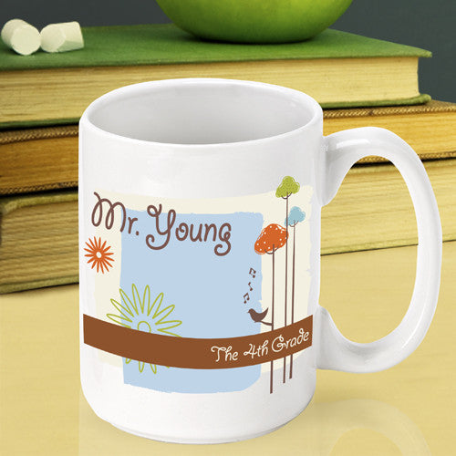 Spring Time Teacher Mug ~ Personalized