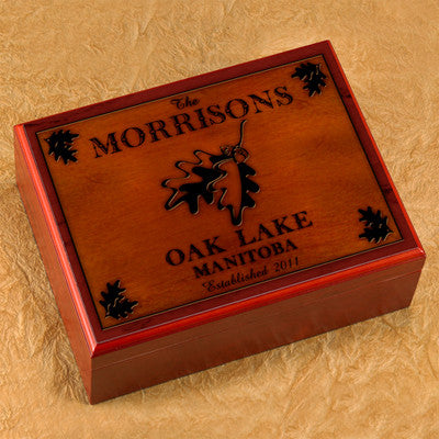 Cabin Series Humidors ~ Personalized