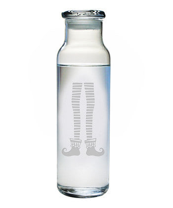 Elf Legs Water Bottle with Lid