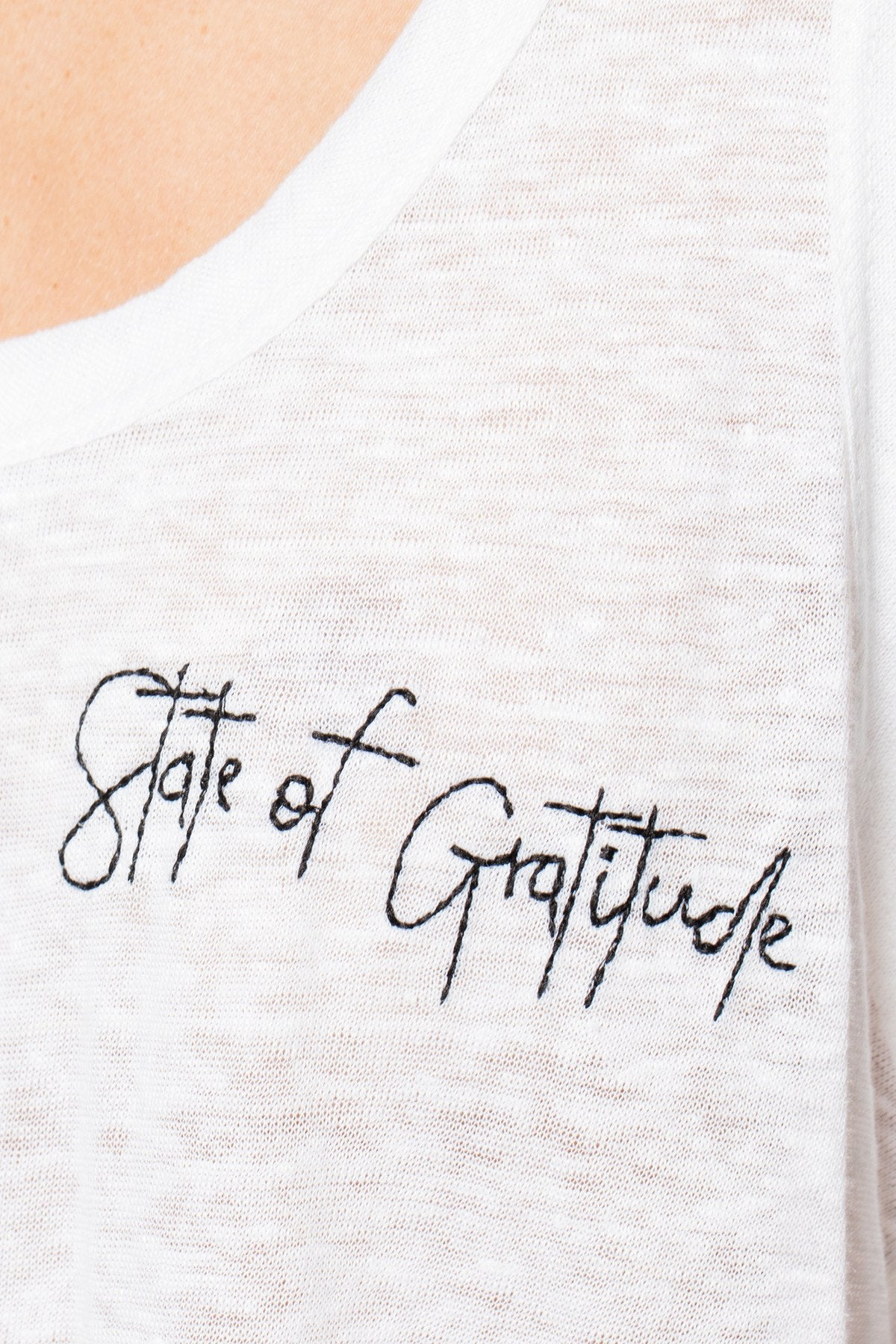 The Linen Perfect Tank- State of Gratitude