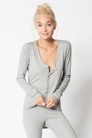 Snap Front Long Sleeve