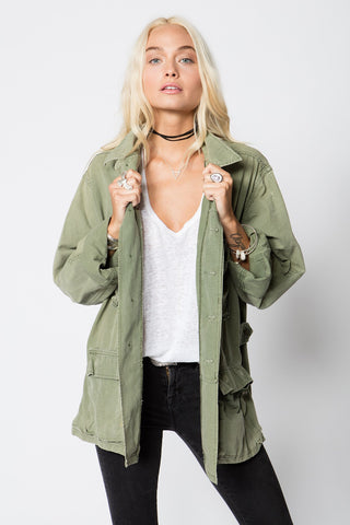 VINTAGE JUNGLE JACKET