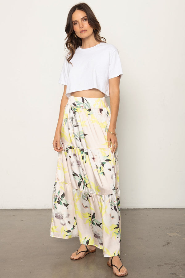 THE TIERED MAXI SKIRT