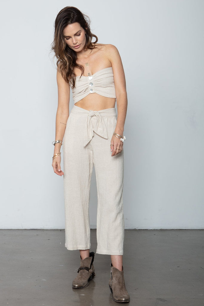 THE BOX TIE PANT