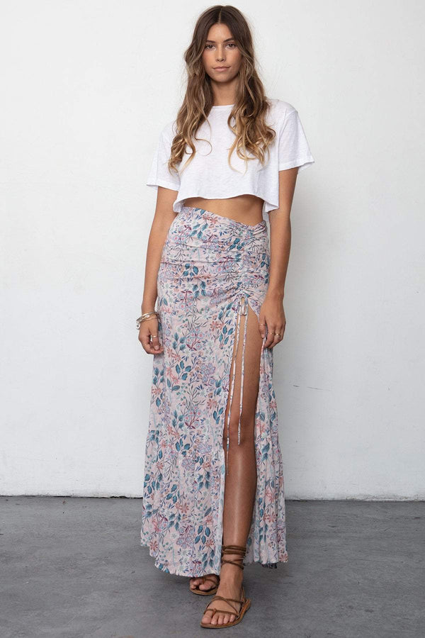 THE BLUFFS SKIRT & BOYFRIEND CROP SET