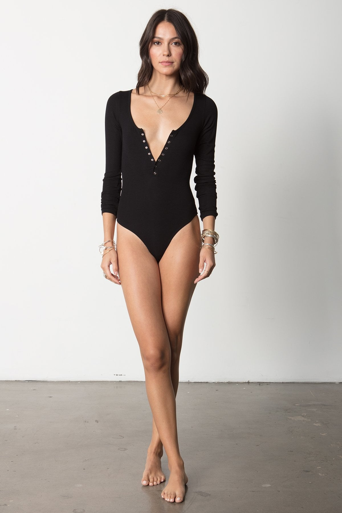 THE SNAP FRONT BODYSUIT