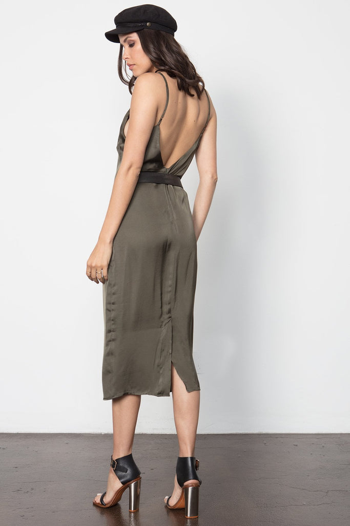 THE DEEPER V SLIP DRESS