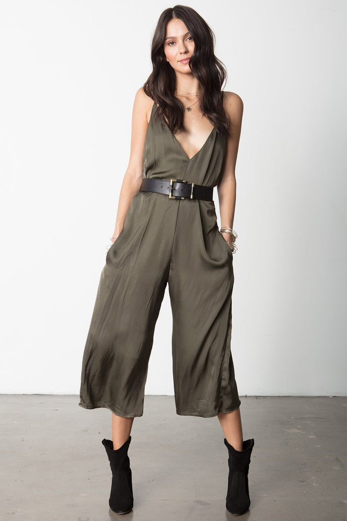 THE V-NECK JUMPSUIT