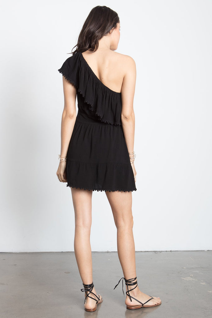 ONE SHOULDER MINI