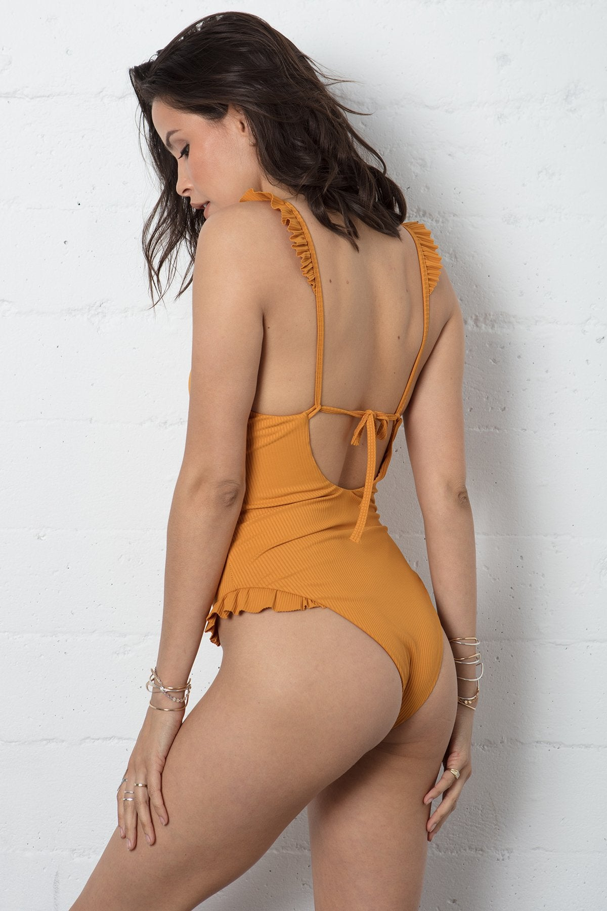 SUNKISSED RUFFLE ONE PIECE