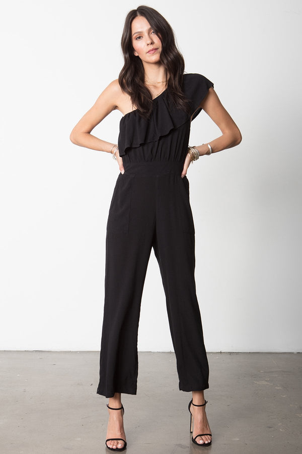 THE ONE SHOULDER MIA JUMPSUIT