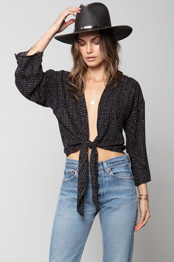 THE BREEZY WRAP TOP