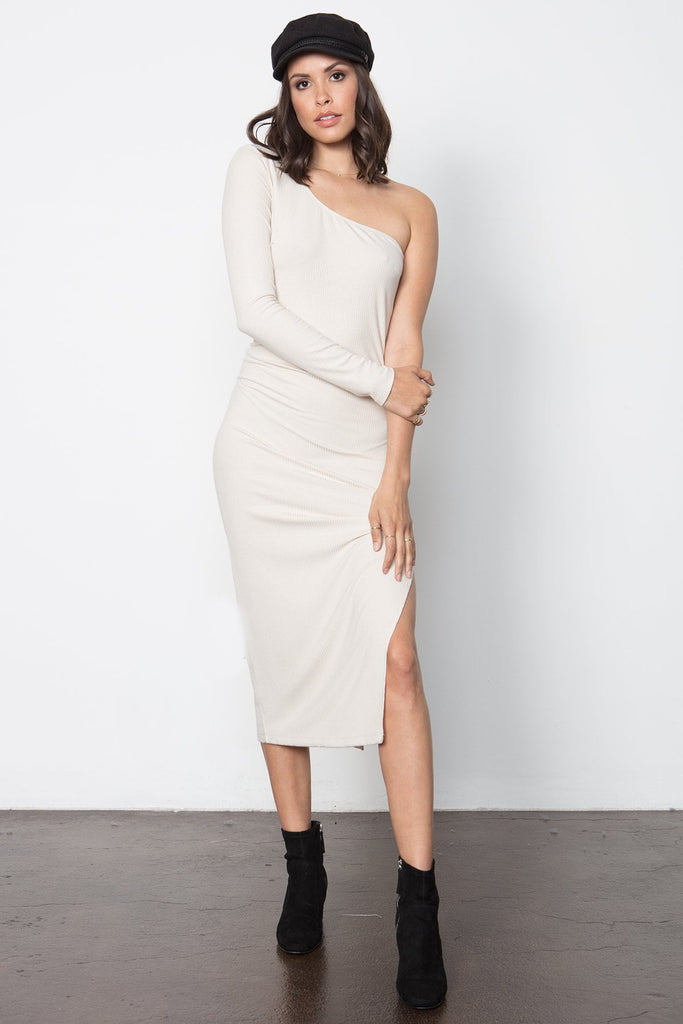 THE KAIA ONE SHOULDER DRESS