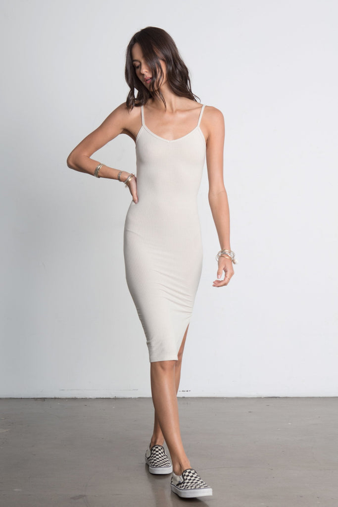 SO SIMPLE TANK DRESS