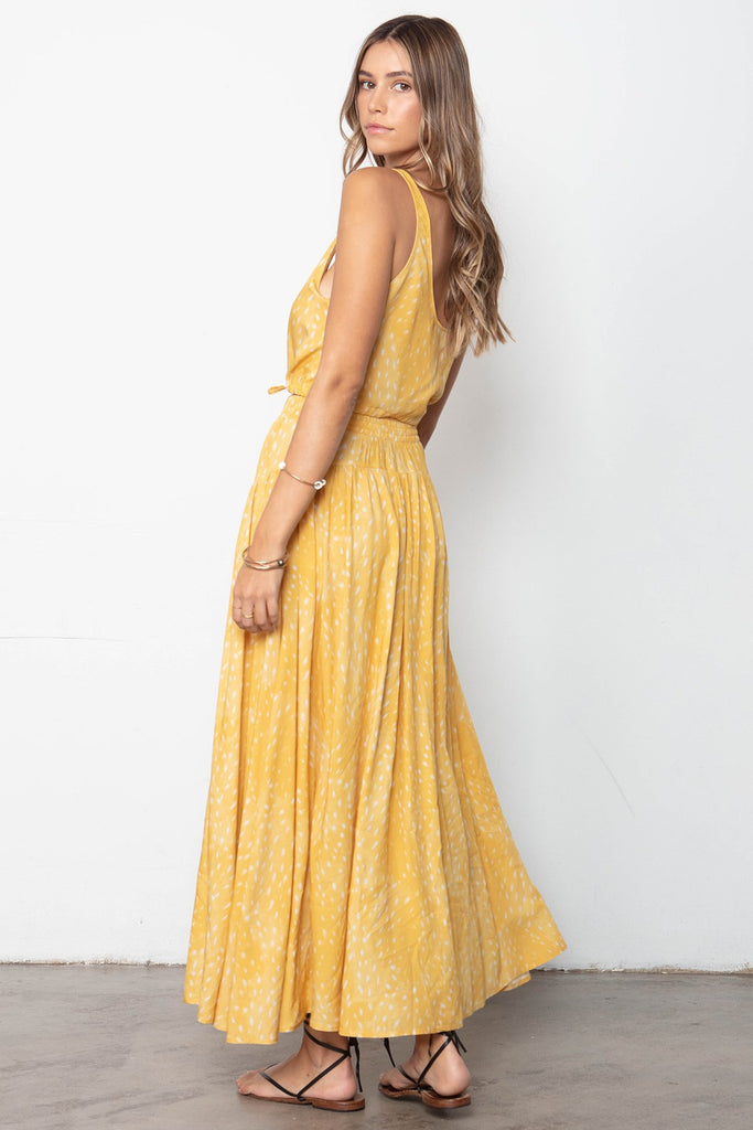 THE BUTTON FRONT MAXI SKIRT