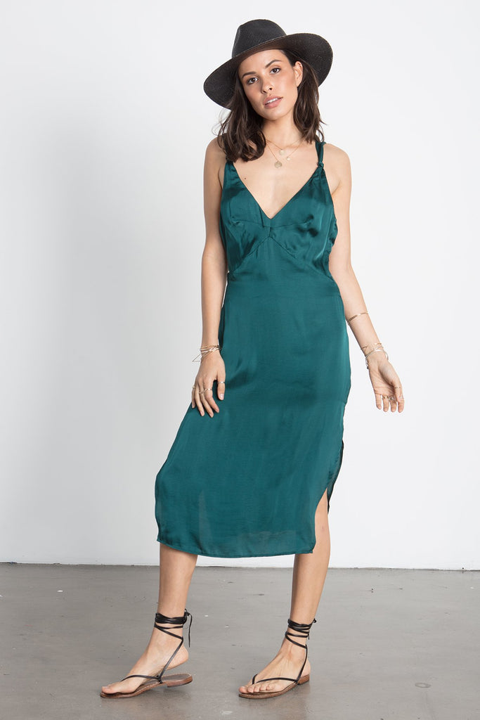 THE KNOTTY SLIP DRESS