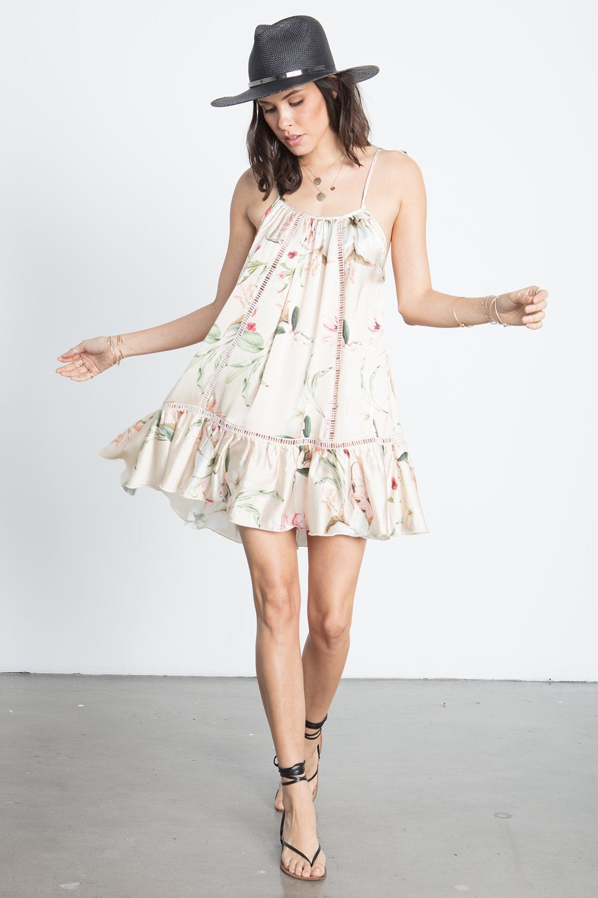 LIL RUFFLES MINI DRESS