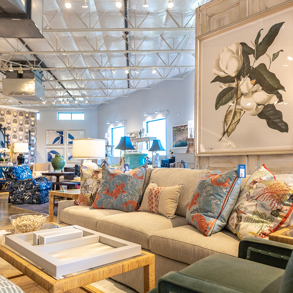 Bountiful Home on the Eastern Shore of Maryland - shot of store interior and furniture showroom