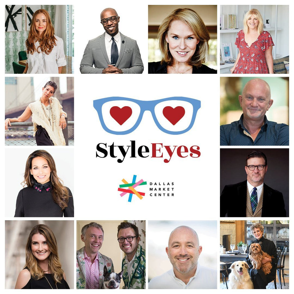 Grid featuring twelve StyleEyes trend spotters for the 2019 Dallas Total Home & Gift Market, including Jamie Merida