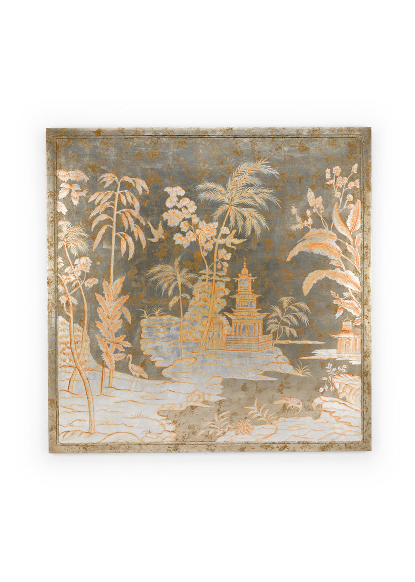 Chinoiserie Panel - Center