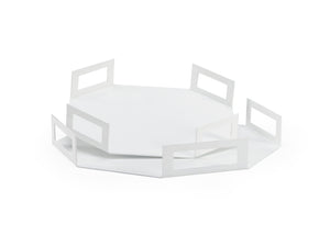 Octagon Trays (Set of 2)