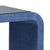Waterfall console in blue raffia - Jamie Merida Collection for Chelsea House