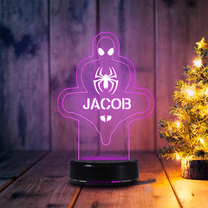 7-Color LED Lamp With Name