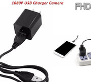 USB Wall Charger Camera 1080P HD