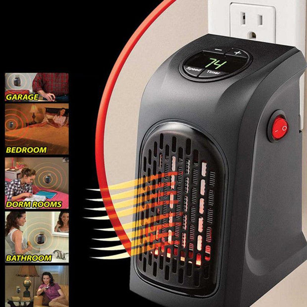 Handy Wall-Outlet Heater