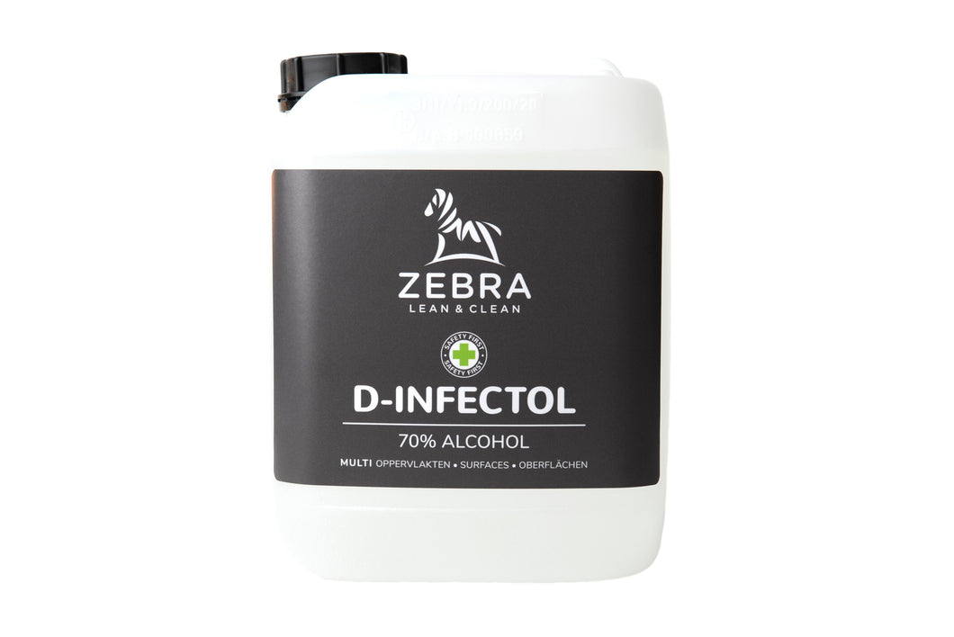 D-INFECTOL DESINFECTERENDE  ALCOHOL NAVULLING (5Ltr)