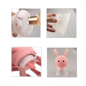 Vibrator rabbit shape breast clit stimulator masturbation female