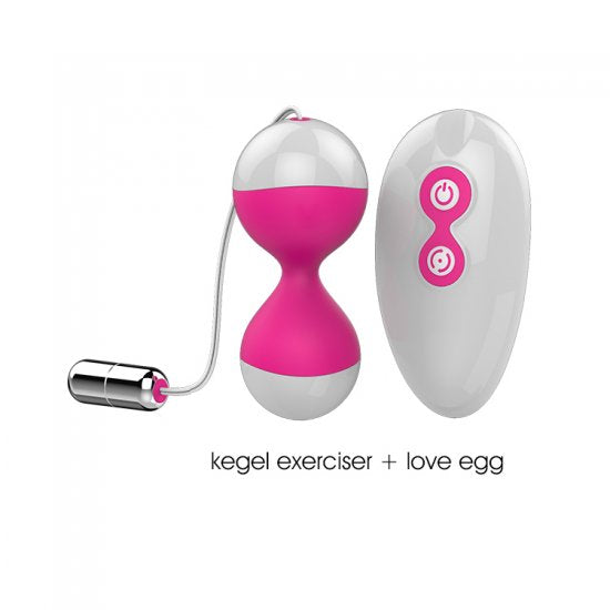 New Kegel Exerciser Massager Vibrator Egg Sex Toy With Remote Control 7 Functions Rechargeable