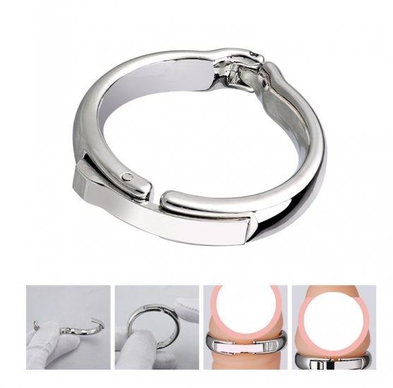 Magnetic Metal Penis Ring Adjustable Physiotherapy Circumcision Erection