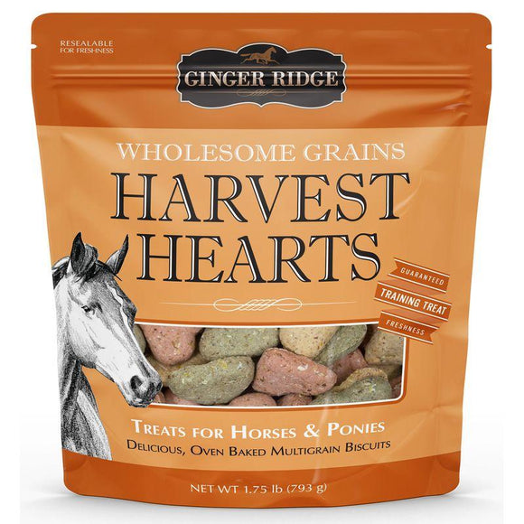 Ginger Ridge Harvest Hearts Horse Treats