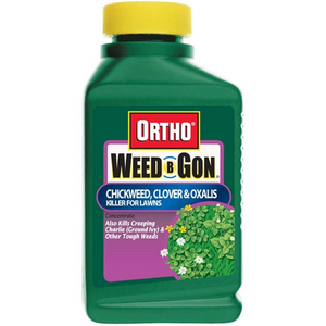 ORTHO WEED-B-GON CHICKWEED, CLOVER & OXALIS KILLER CONCENTRATE