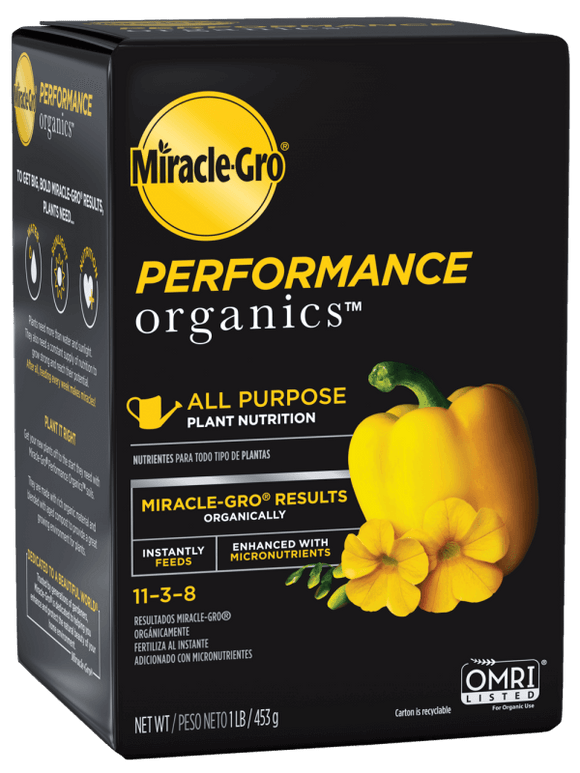 Miracle-Gro® Performance Organics® All Purpose Plant Nutrition
