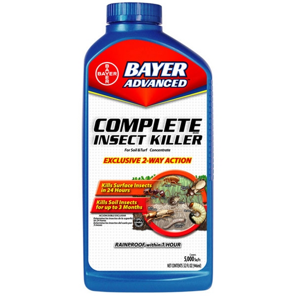 BAYER ADVANCED COMPLETE BRAND INSECT KILLER FOR SOIL & TURF CONCENTRATE