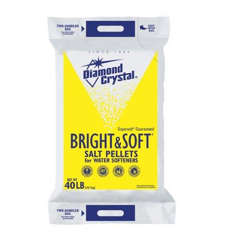 Diamond Crystal BRIGHT & SOFT® WATER SOFTENER SALT PELLETS