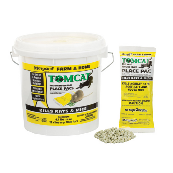 TOMCAT RAT & MOUSE BAIT PLACE PAC