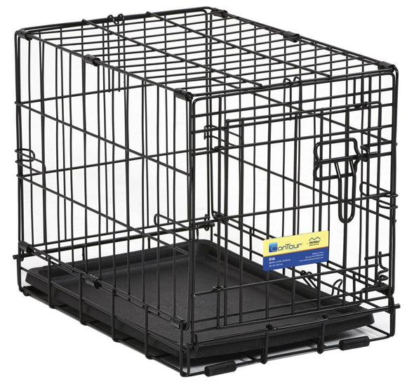 Midwest Contour™ Single-Door Folding Dog Crates