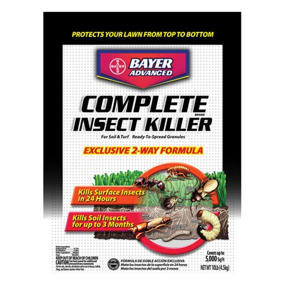 COMPLETE BRAND INSECT KILLER FOR SOIL & TURF GRANULES