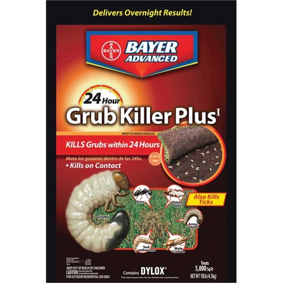 BAYER ADVANCED 24 HOUR GRUB KILLER PLUS GRANULES
