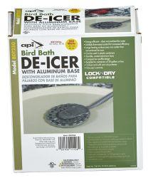 API Bird Bath De-Icer with Aluminum Base, 250 Watt