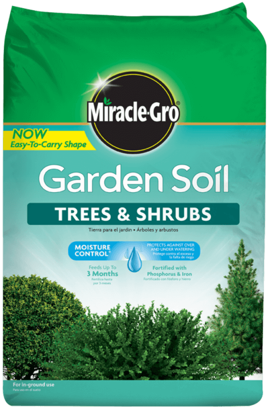 Miracle-Gro® Garden Soil For Trees & Shrubs